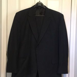 JOS A. BANK PINSTRIPED SUIT